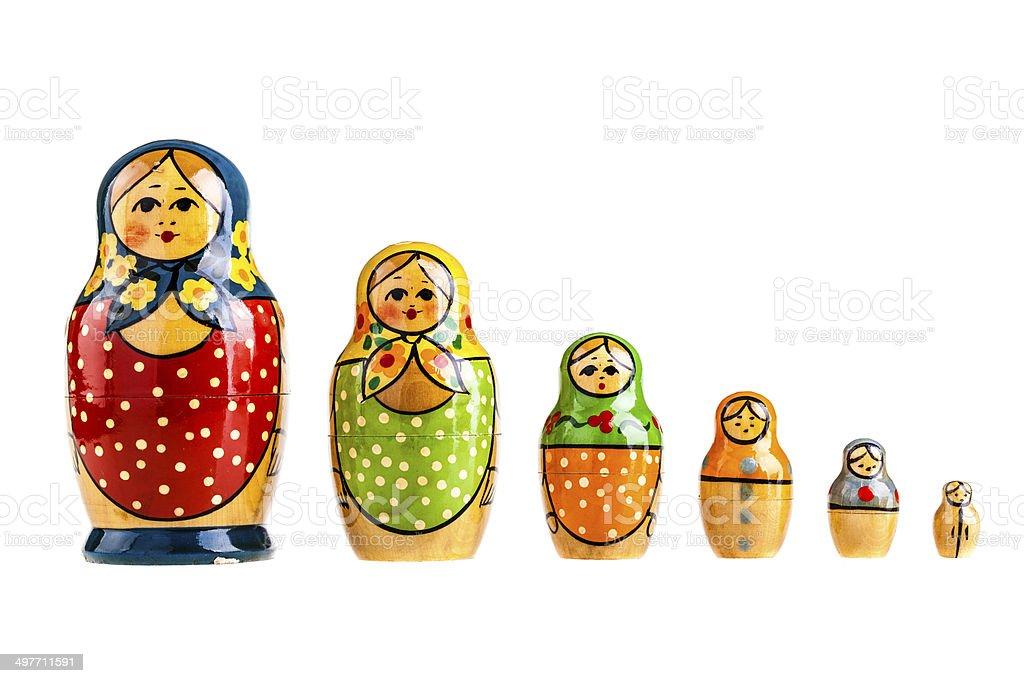 Russian family stock photo