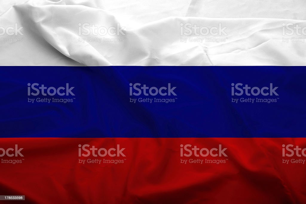 Russian Federation flag royalty-free stock photo