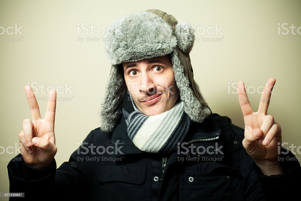 Russian for peace royalty-free stock photo