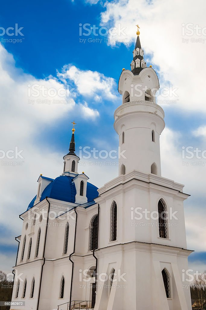 Russian Gothic stock photo