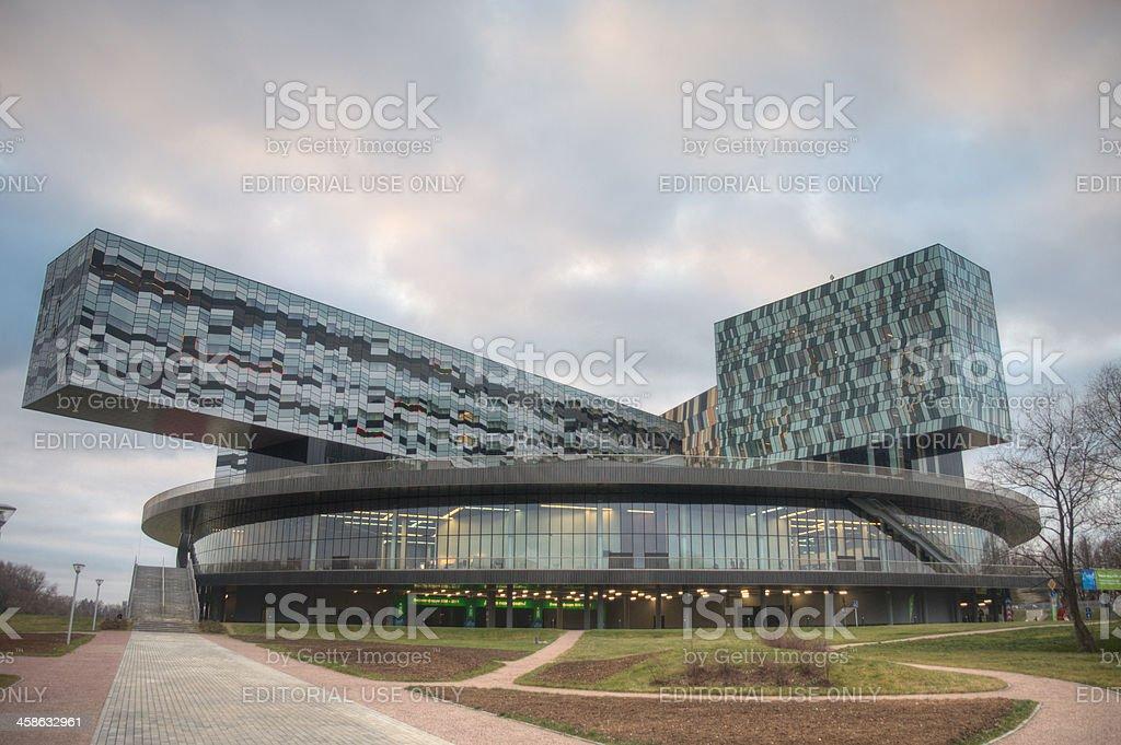 Russian Innovative center Skolkovo stock photo