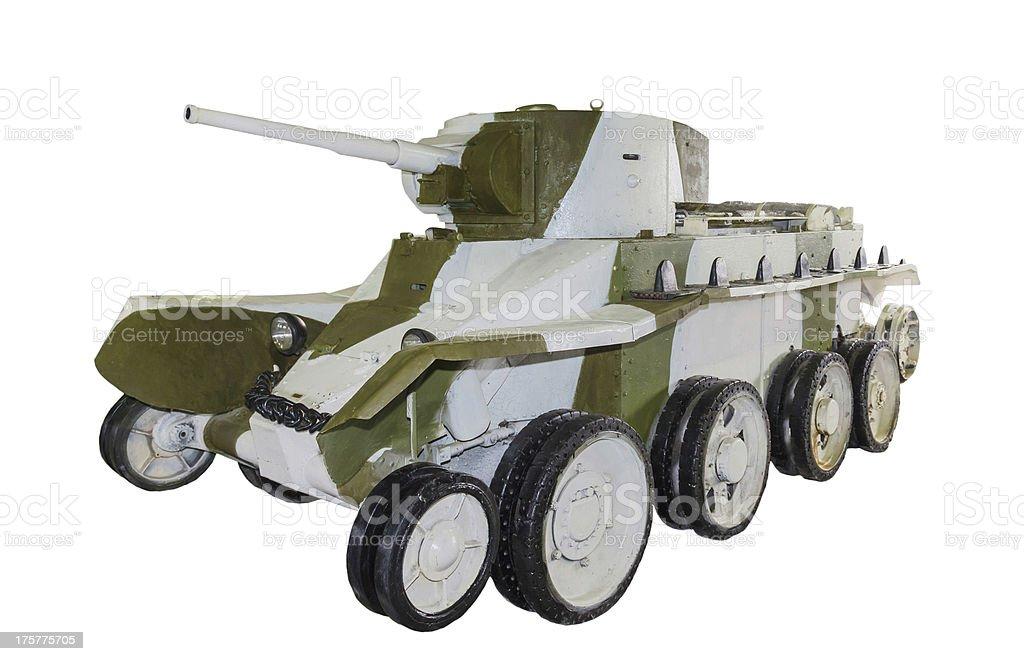Russian light tank BT-5 stock photo