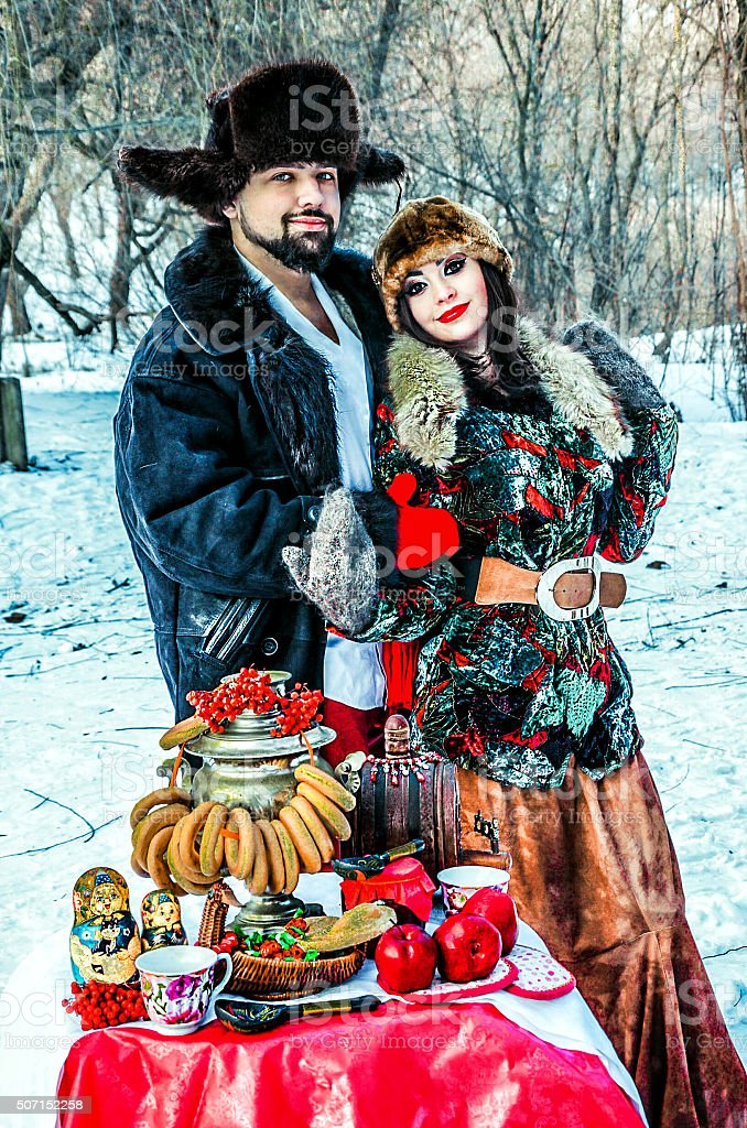 Russian love stock photo