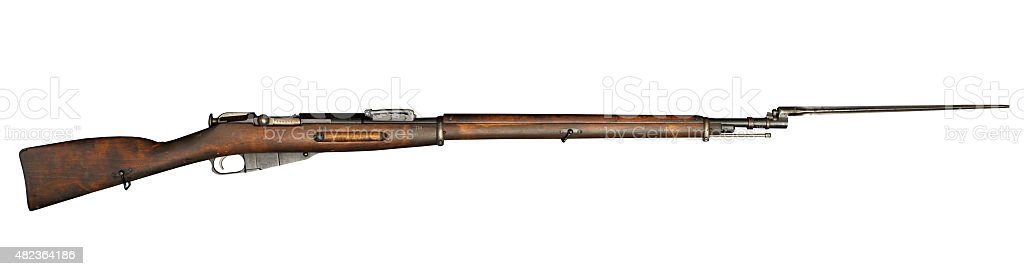 Russian M91/30 Mosin Nagant Rifle stock photo