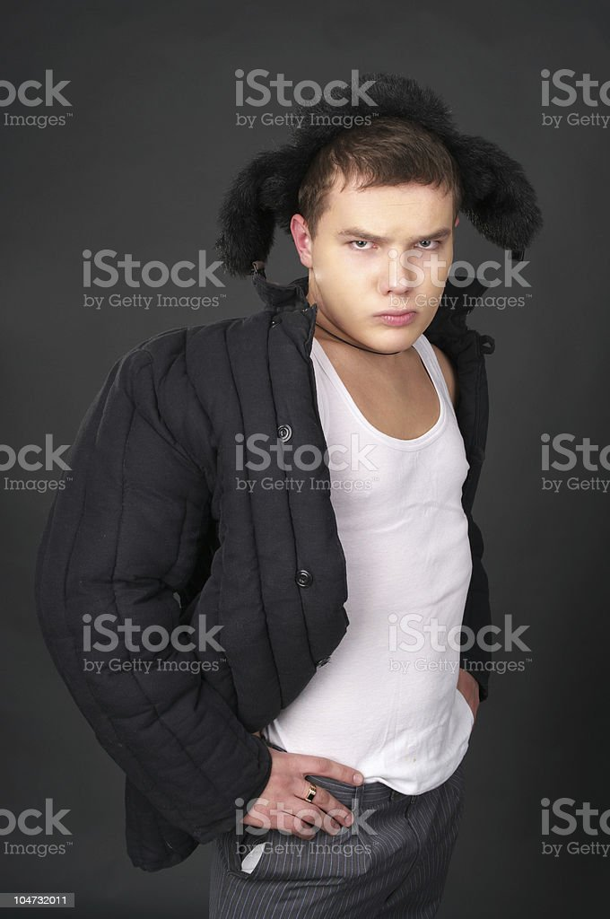 Russian man royalty-free stock photo