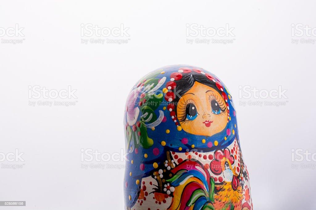 Russian matrushka toy stock photo