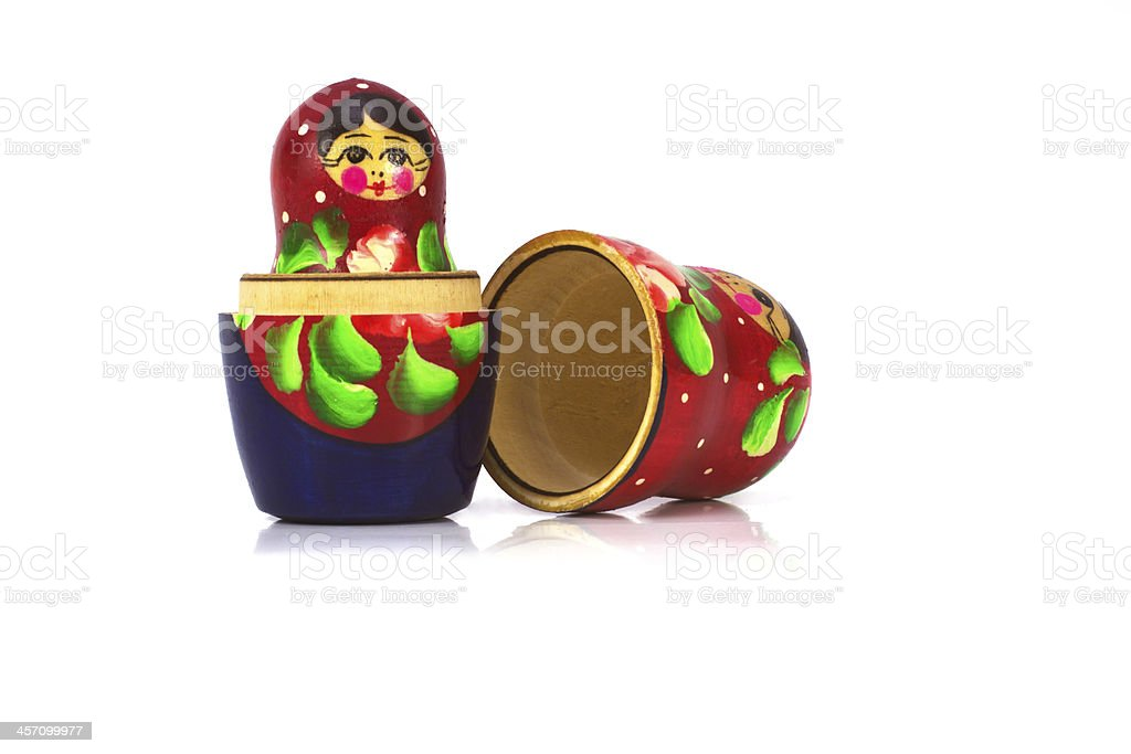 russian matryoshka royalty-free stock photo