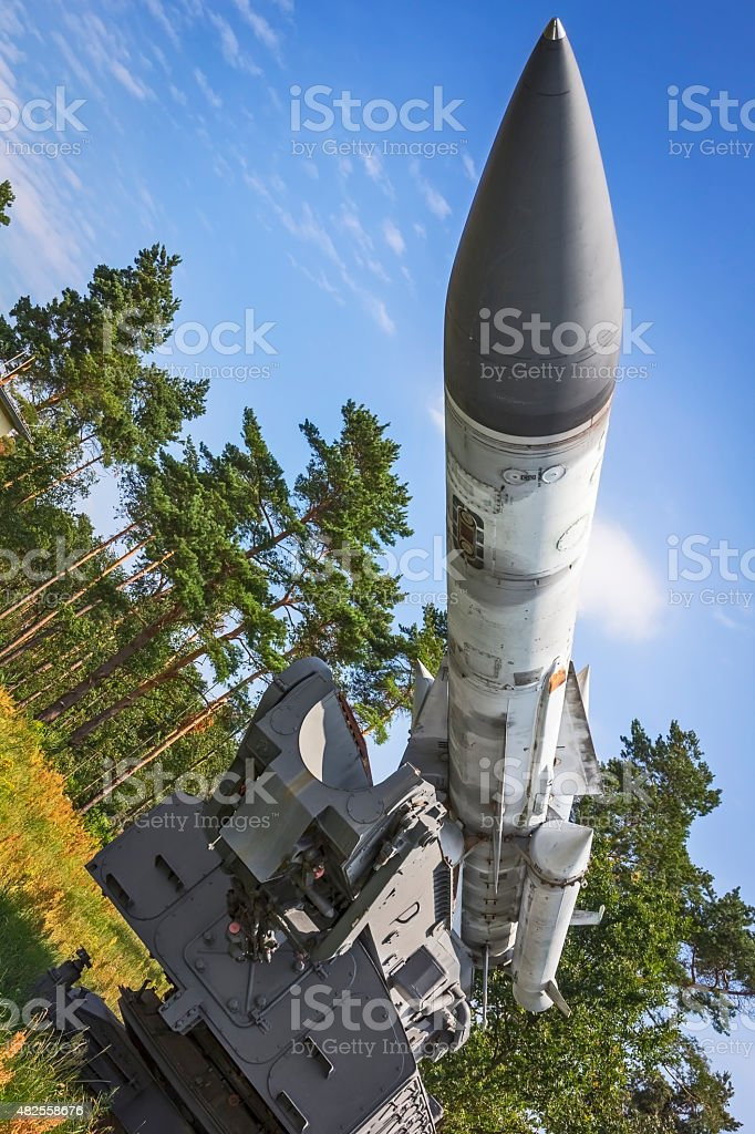 Russian Military Air Missile stock photo
