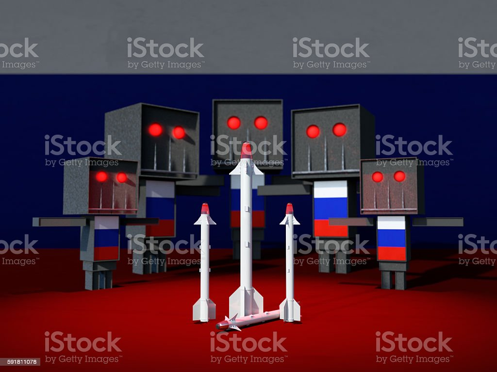 Russian military love royalty-free stock photo