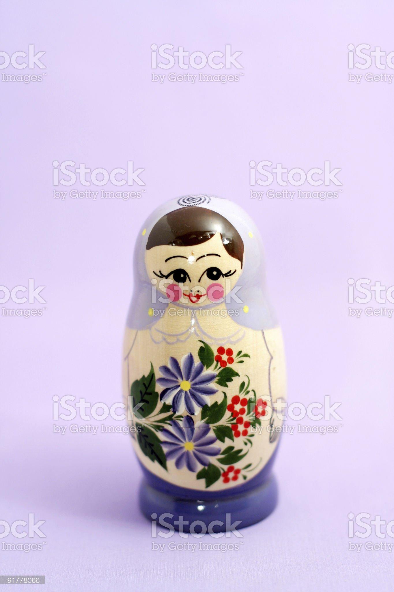 russian nesting doll royalty-free stock photo