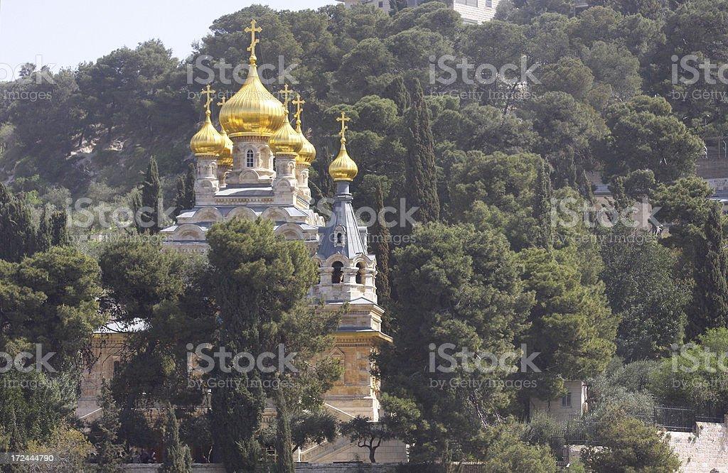 Russian Orthodox Church - Jerusalem royalty-free stock photo