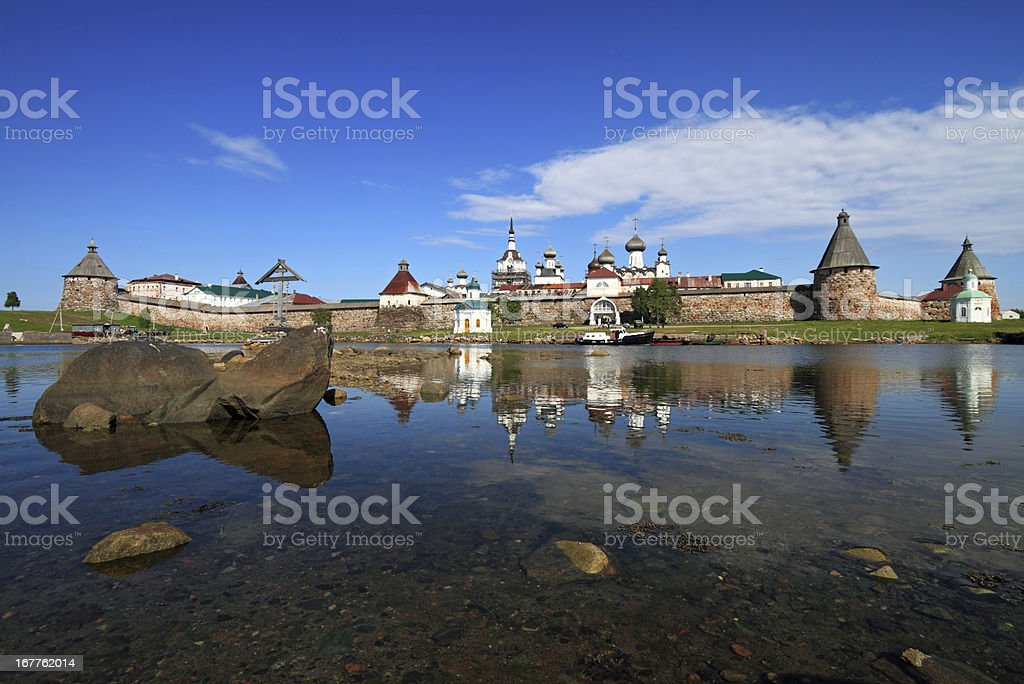 Russian Orthodox Monastery, Russia stock photo