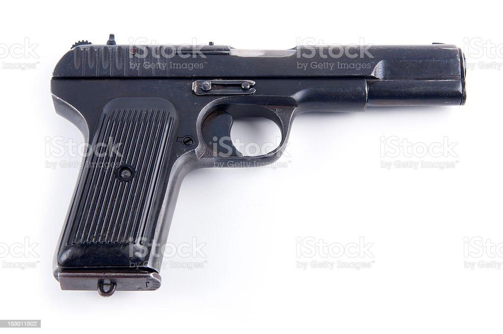 Russian pistol stock photo