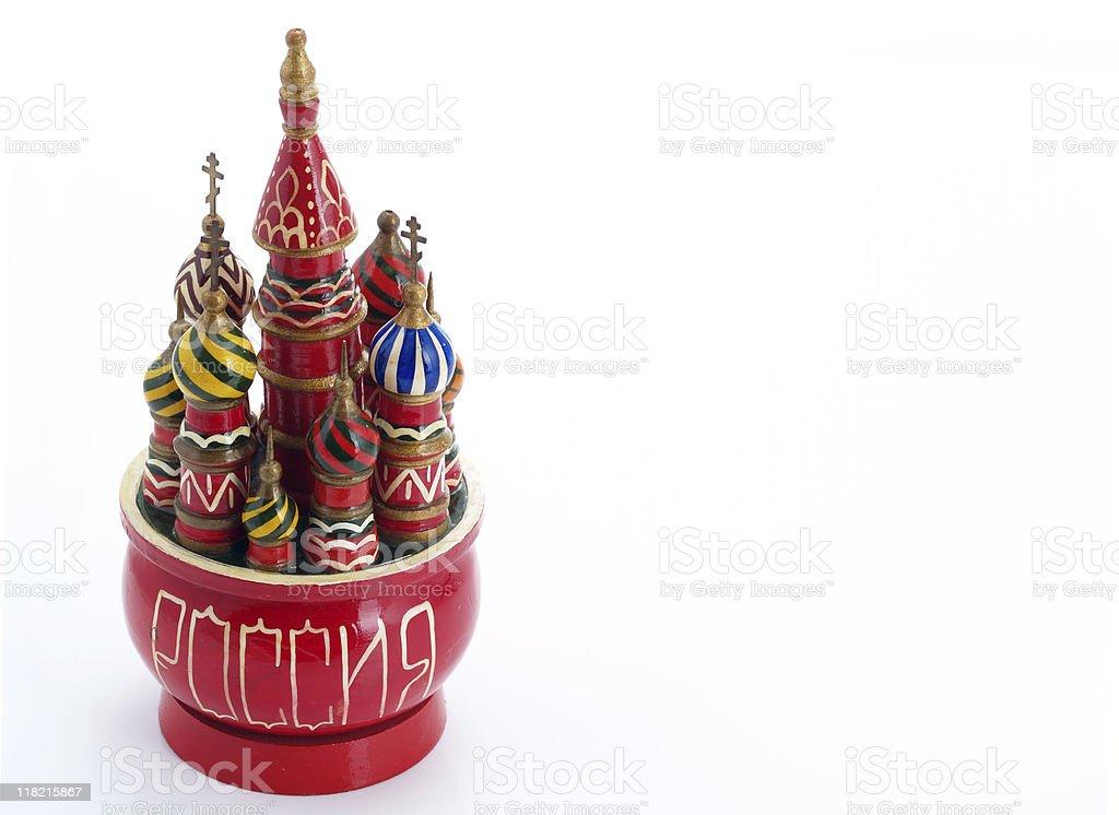 russian souvenir royalty-free stock photo