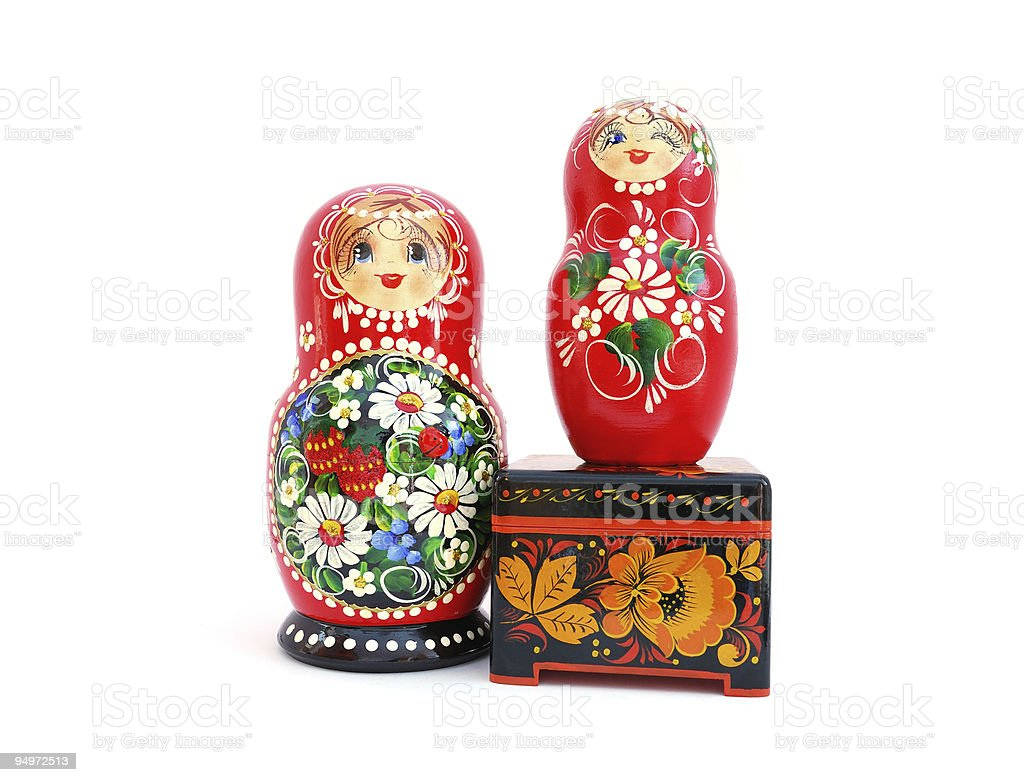 Russian souvenirs royalty-free stock photo