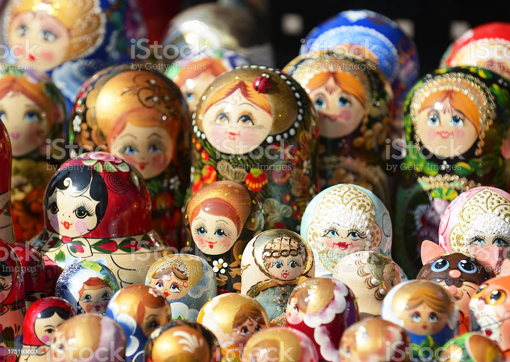 Russian Toy royalty-free stock photo
