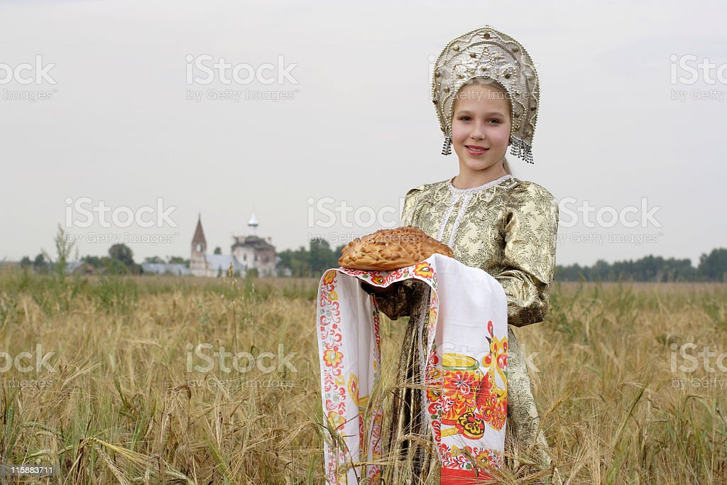 russian tradition royalty-free stock photo
