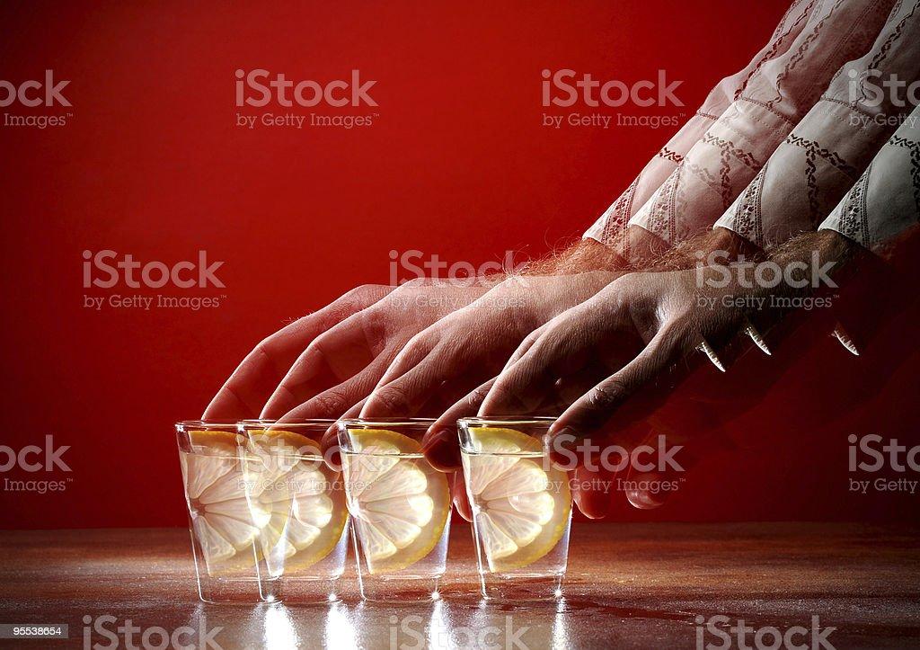 Russian Vodka royalty-free stock photo