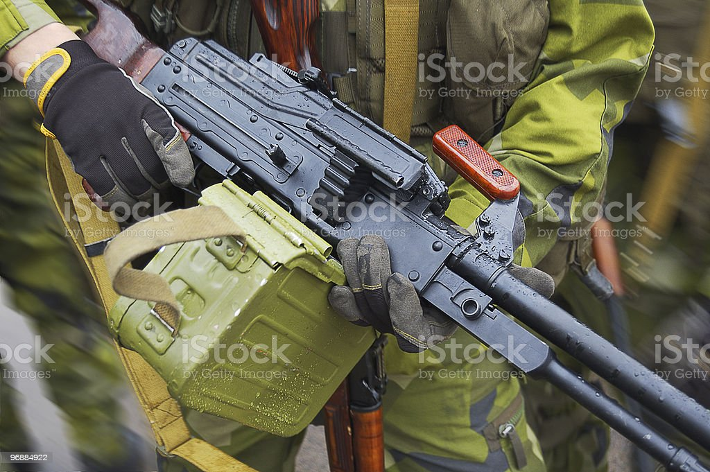Russian weapon stock photo