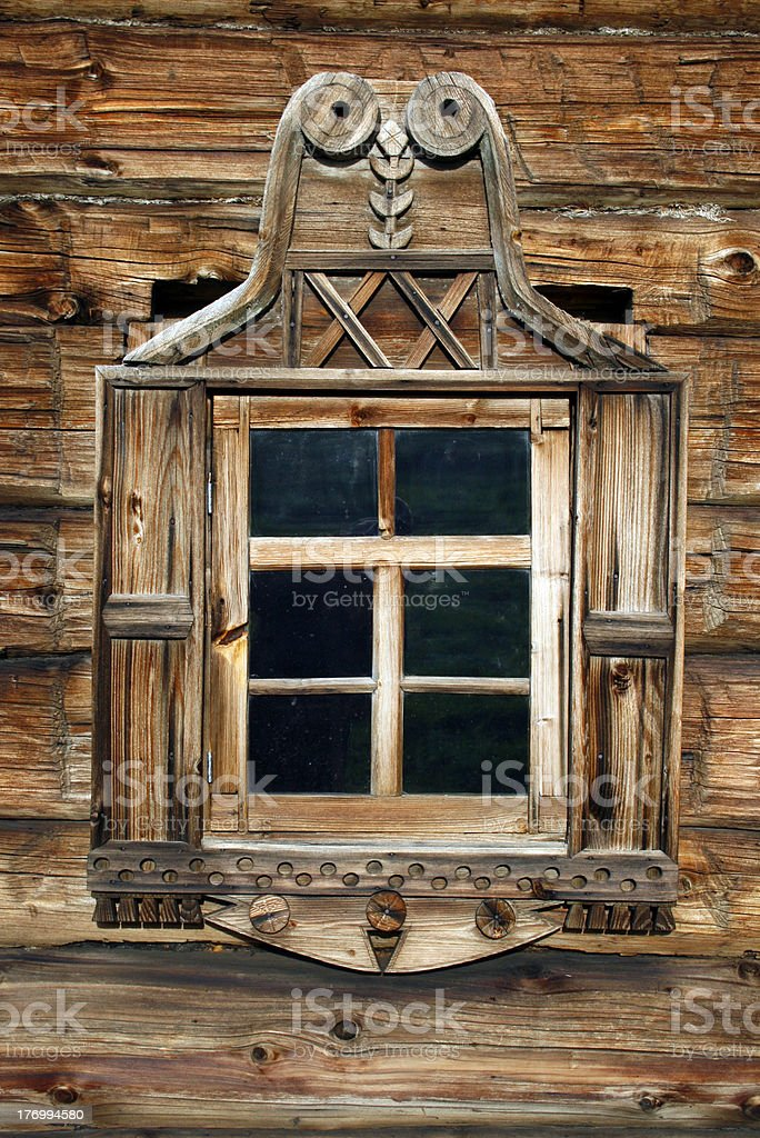 russian window royalty-free stock photo
