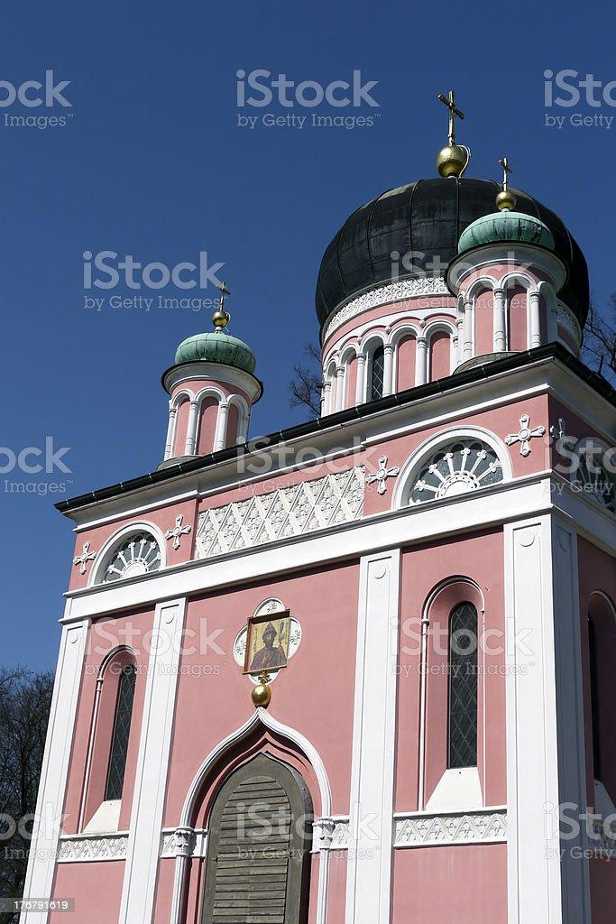 Russisch-Orthodoxe Kirche stock photo