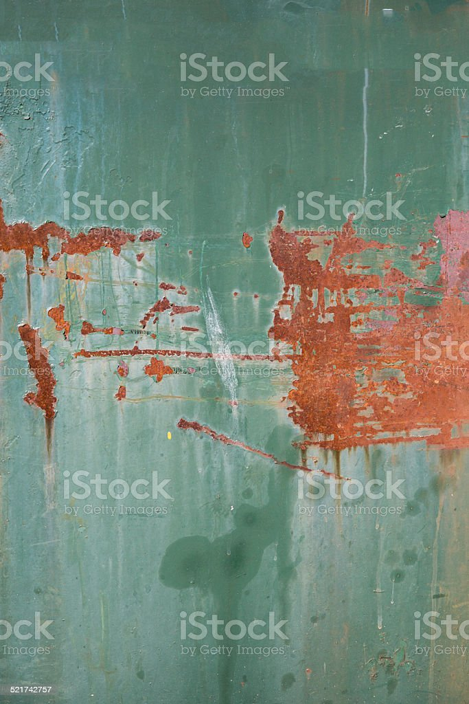 Rust and paint background- Stock Image stock photo