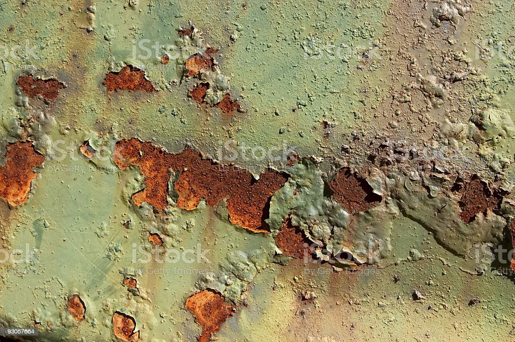 Rust and Paint royalty-free stock photo