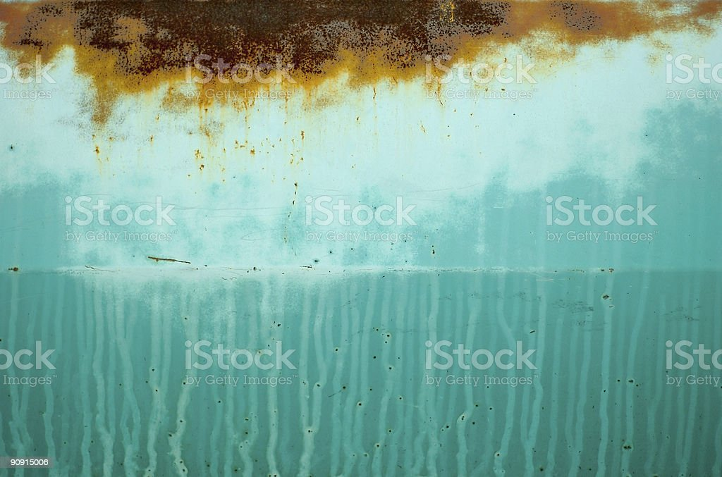 Rust and Paint Texture royalty-free stock photo