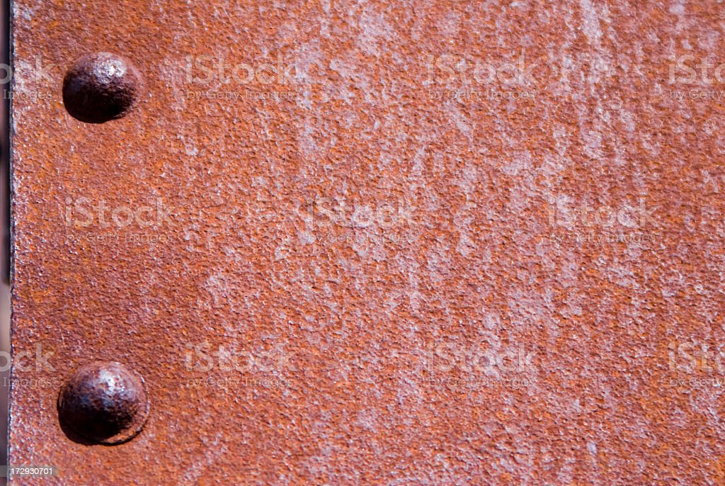 Rust and Rivets royalty-free stock photo