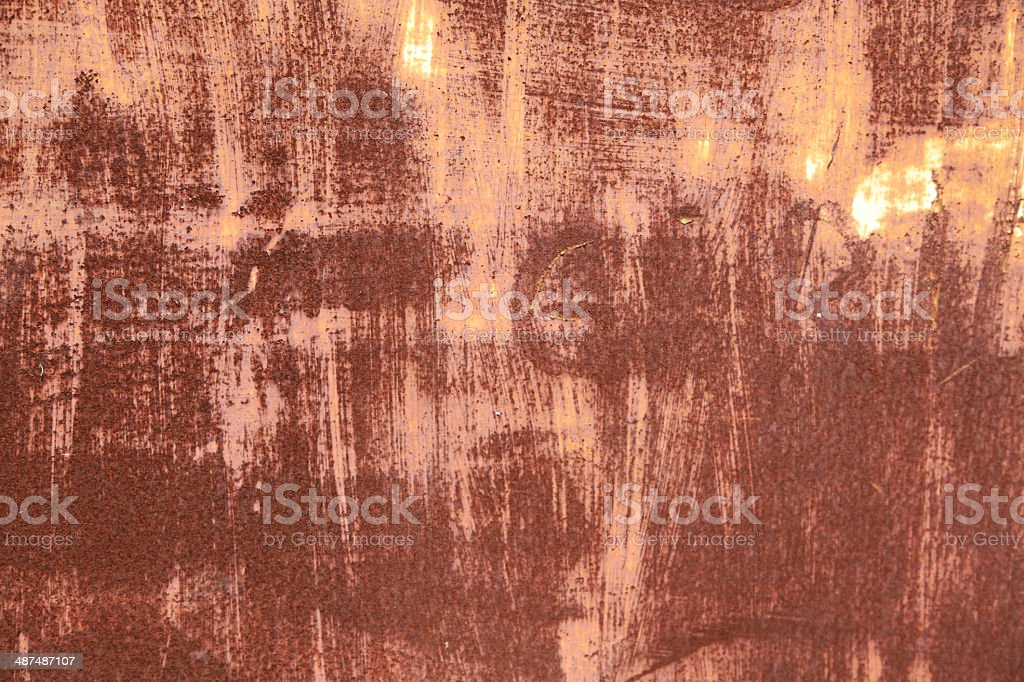 Rust and steel royalty-free stock photo