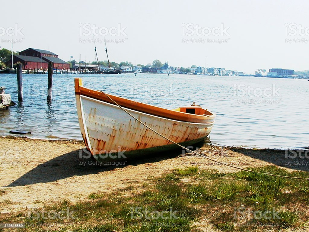 Rust Bucket stock photo
