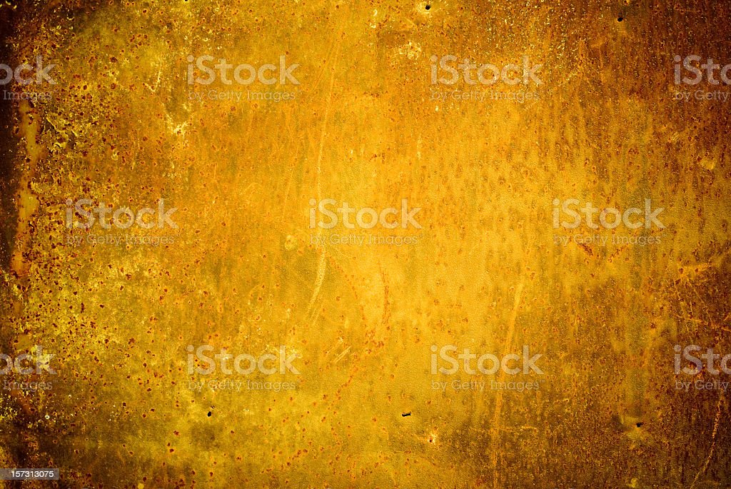 Rust colored grunge background royalty-free stock photo