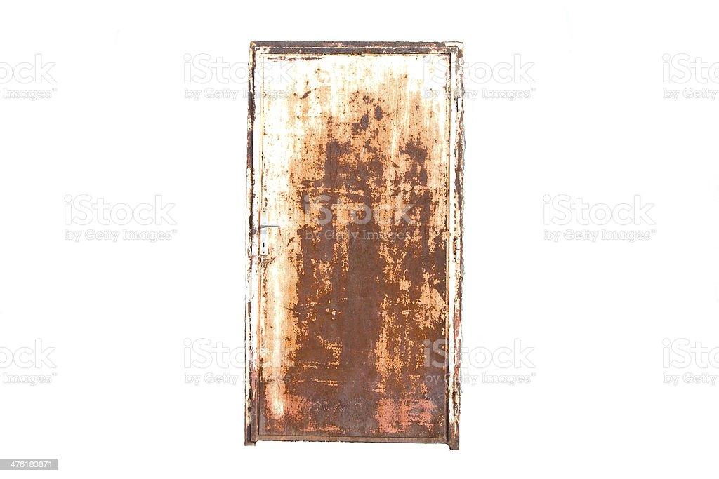 rust door stock photo