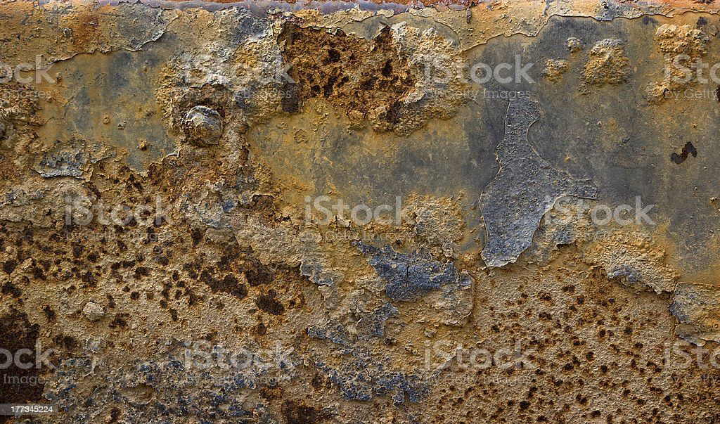 Rust Grunge Textured Background royalty-free stock photo