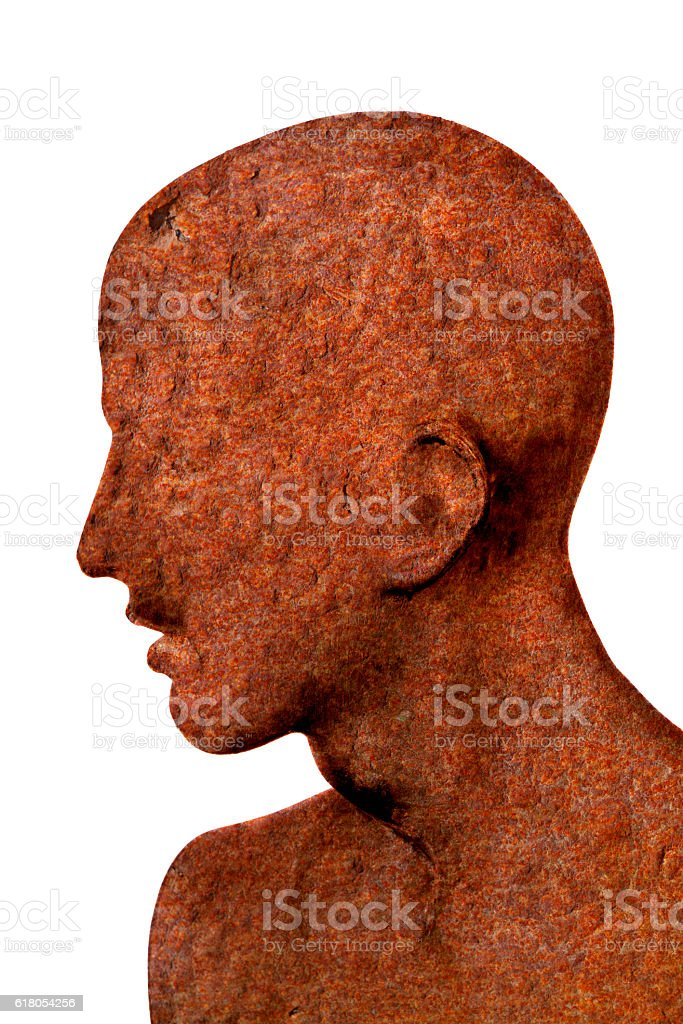 Rust Men stock photo