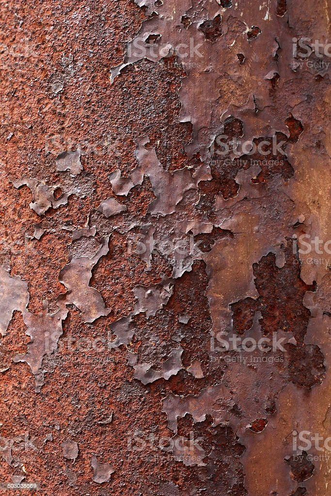 Rust Metal Background royalty-free stock photo