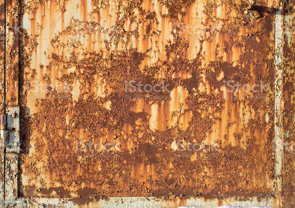 Rust Metal Texture stock photo
