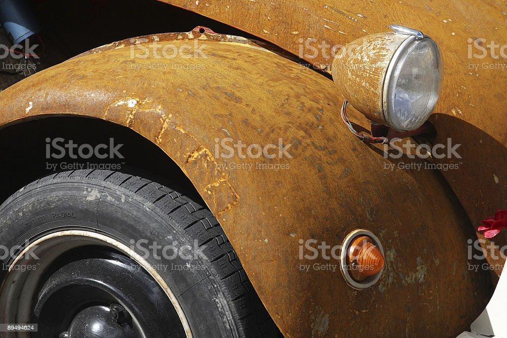 Rust never sleeps stock photo