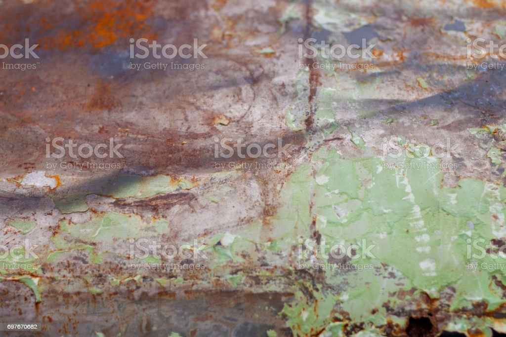 Rust Old Car Hood Photography stock photo