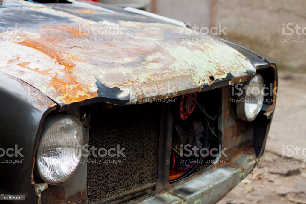 Rust Old Car Photography stock photo