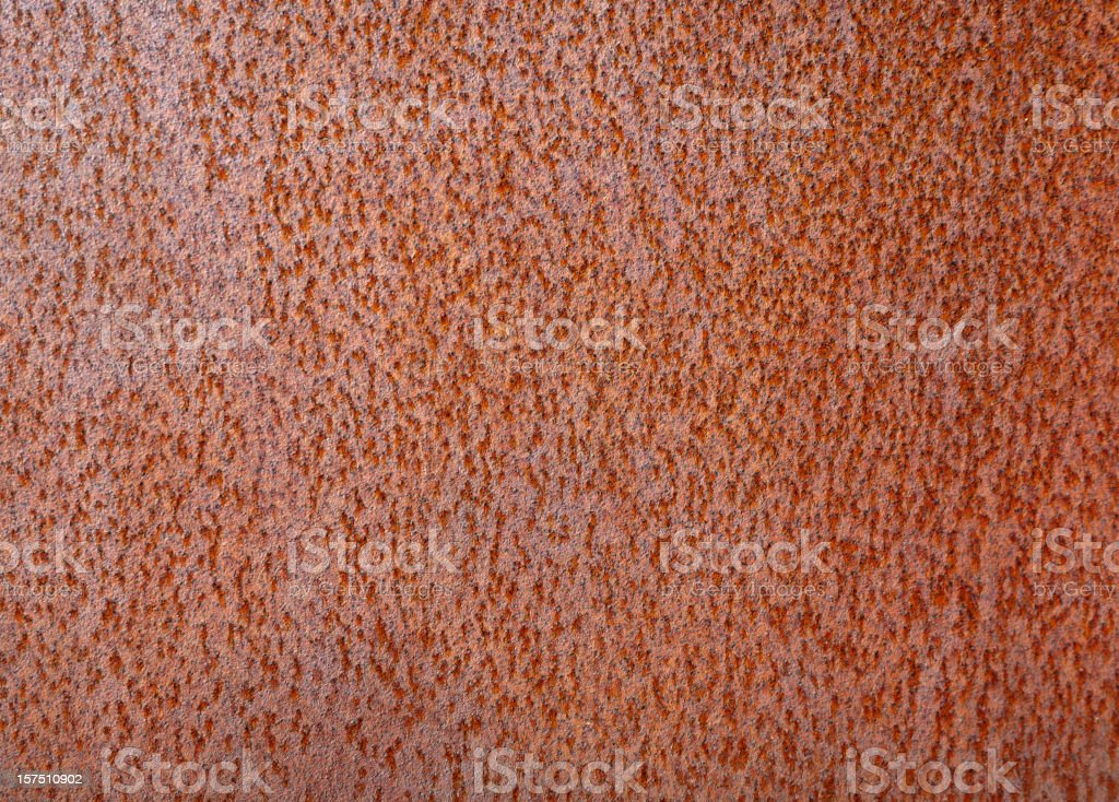 Rust on flat metal abstract royalty-free stock photo