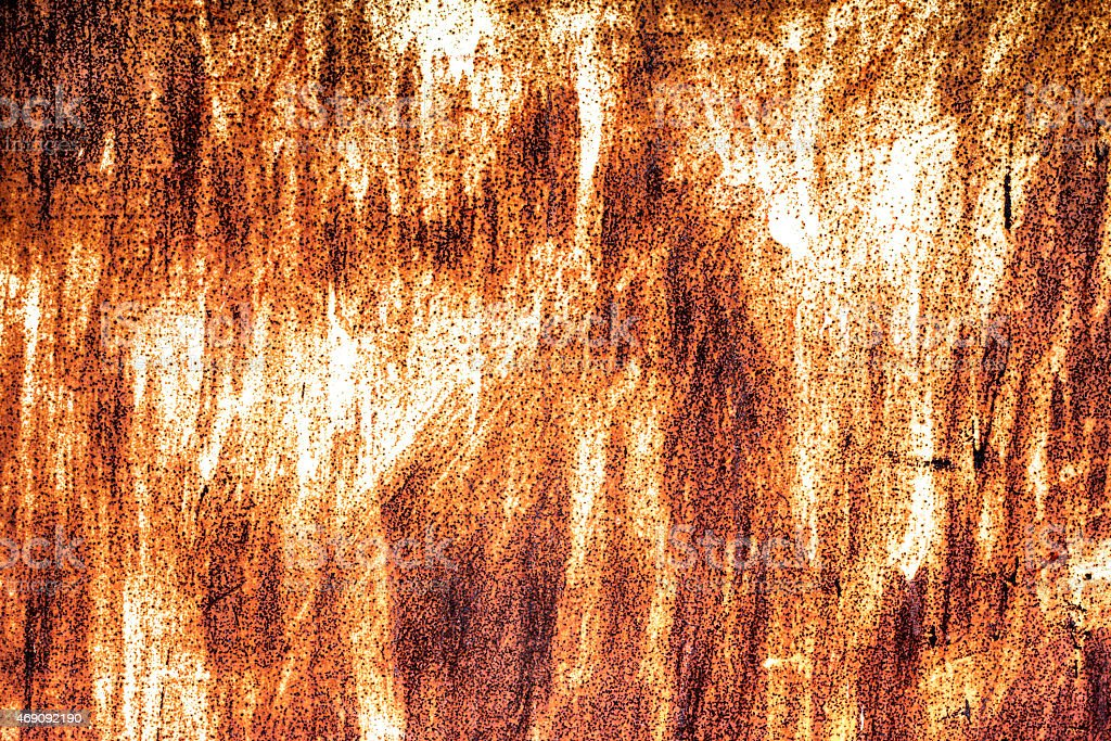 Rust on the metal structure .Background stock photo