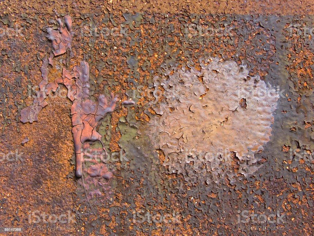 Rust Pattern royalty-free stock photo