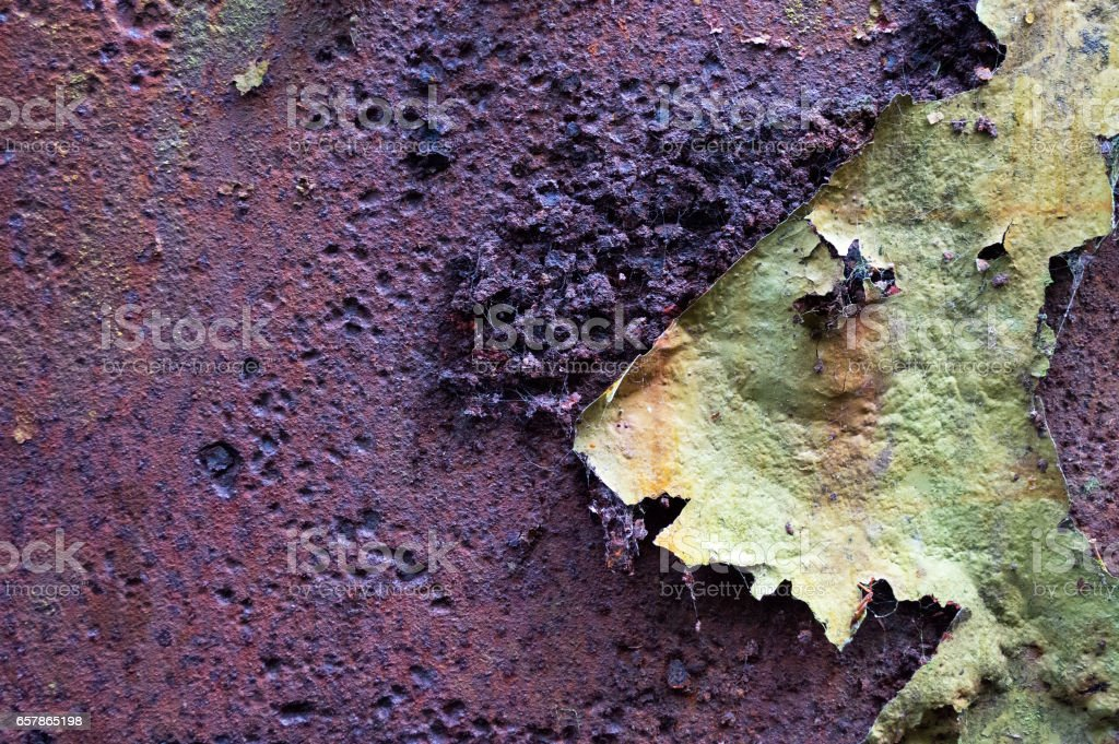 Rust Peeling Paint 2 stock photo