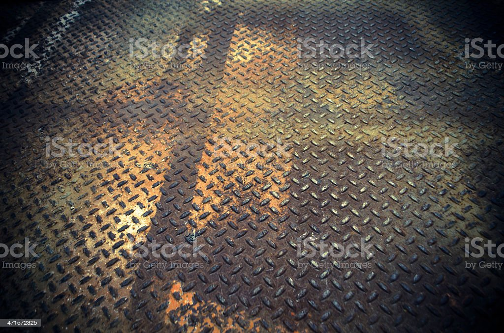 rust rhombus background royalty-free stock photo