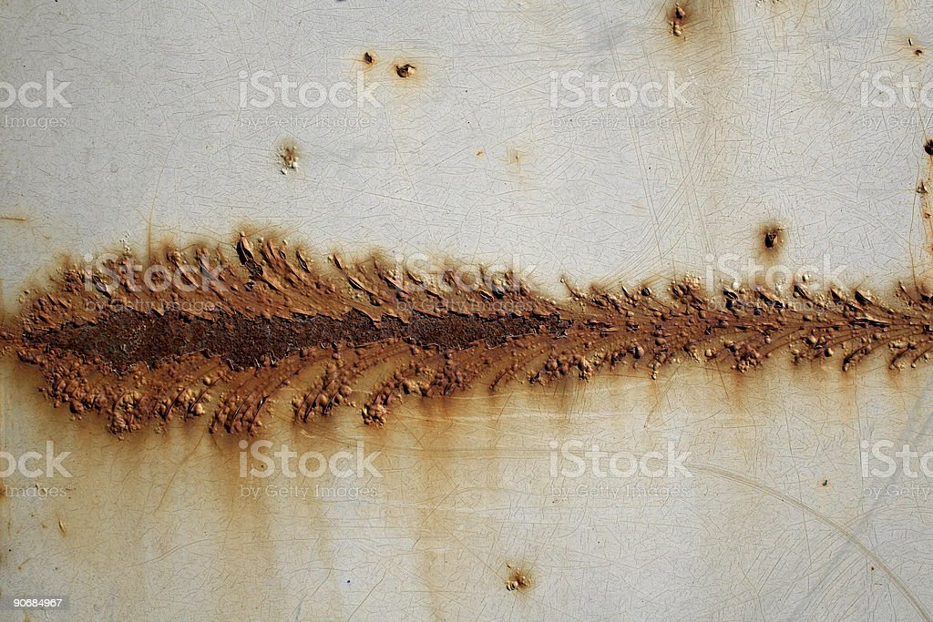 Rust spear stock photo