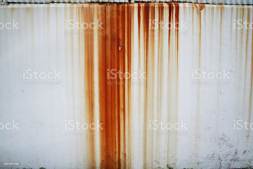 rust streaks royalty-free stock photo