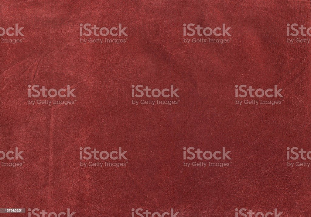 Rust Suede Background stock photo