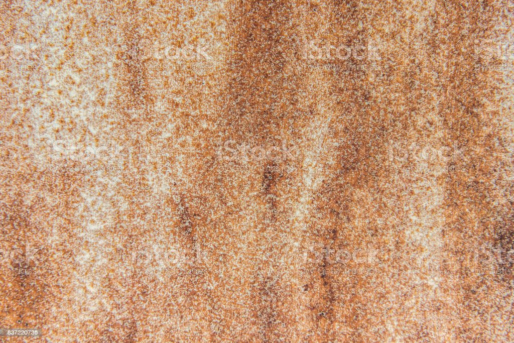 Rust texture as metal plate for background stock photo