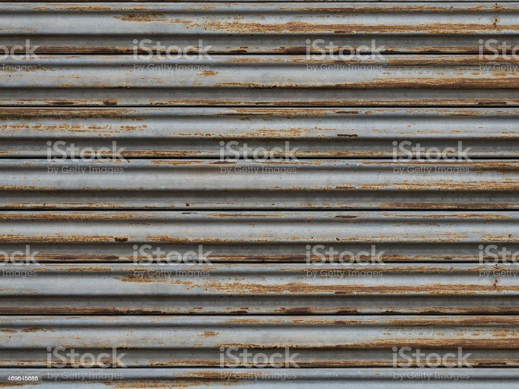 Rust Warehouse Door Texture stock photo